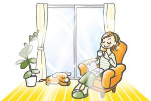 紫外線を浴びない窓辺|ガラスの紫外線カット率ランキング