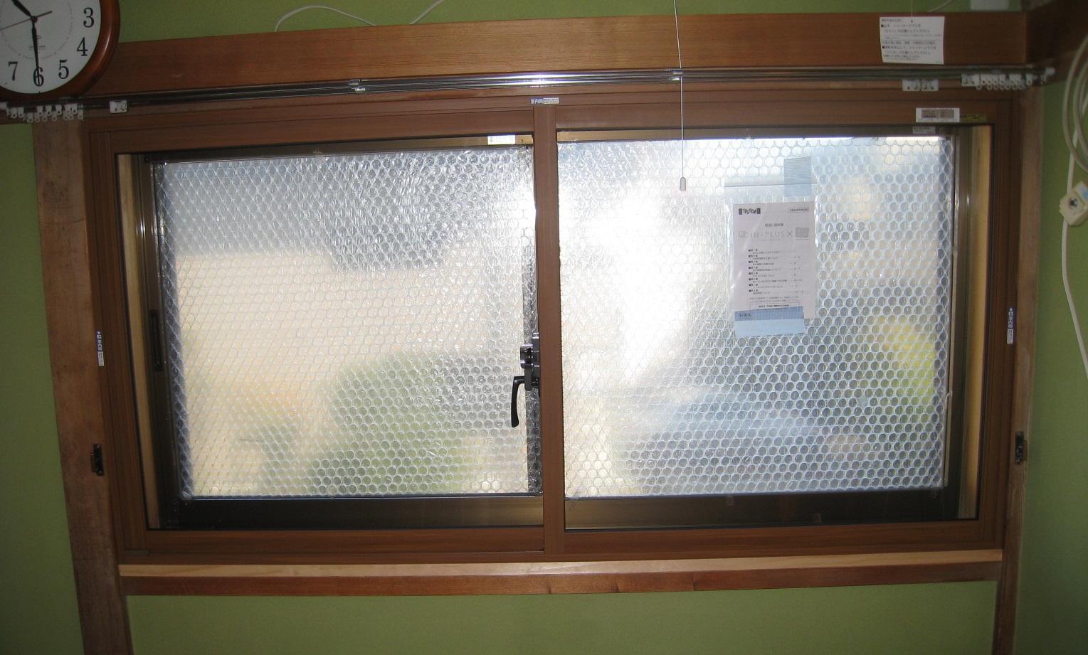 既存の木枠カラーにもマッチ!内窓インプラス