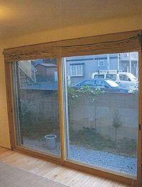 出窓に内窓は、冬の寒さ対策になります!
