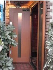 まるで新築!玄関ドア1dayリフォーム