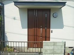 簡単ドア工事