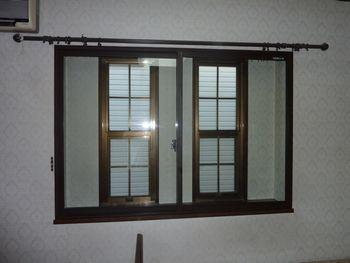 外部の音を内窓+防音ガラスでカット!