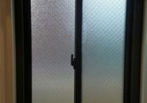 ルーバー窓から引違窓へカバー改修
