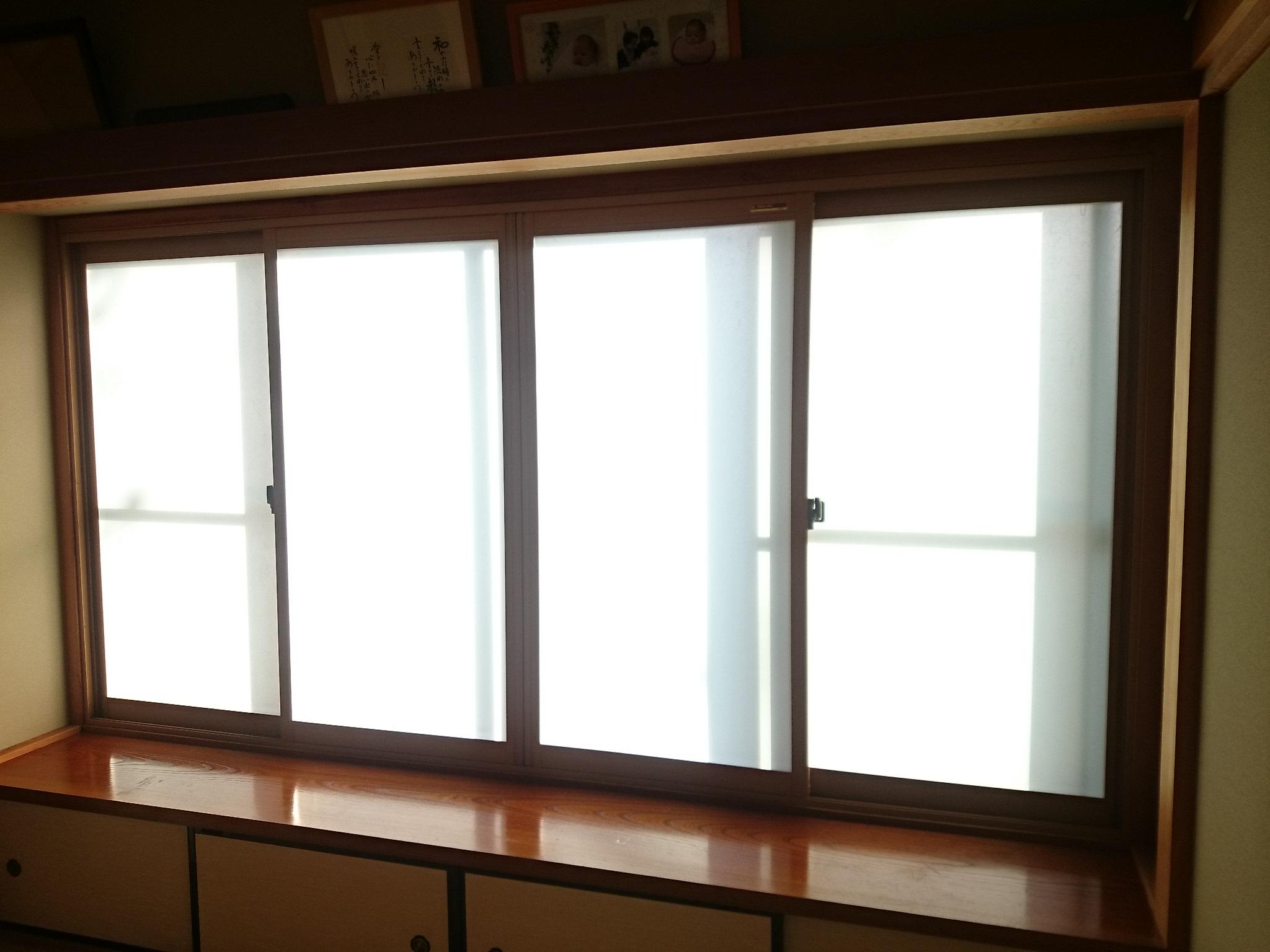 内窓設置で部屋を暖かく