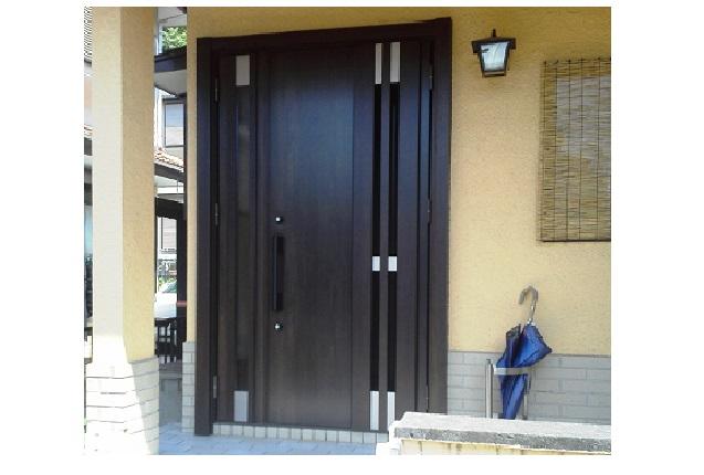 1dayリフォーム 断熱玄関ドア。しかも採風!