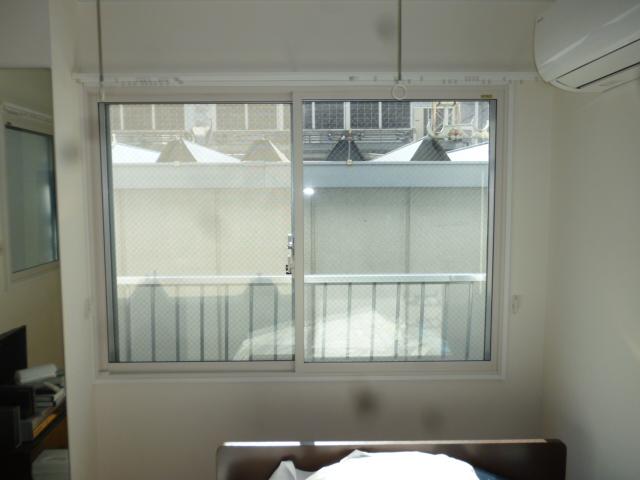 内窓設置で断熱、防音