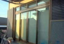 アタッチ付ペアガラスへ窓ガラスをリフォーム
