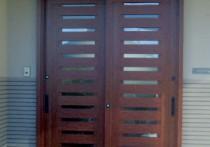 浴室中折ドアのリフォーム