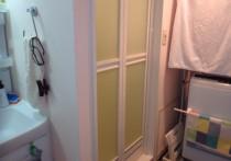 浴室ドアから折戸へ