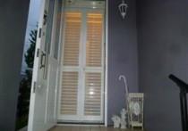 ドア用折れ網戸 リリーブで彩風、通風!
