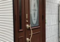 リシェント玄関ドア3断熱仕様親子C15型施工例