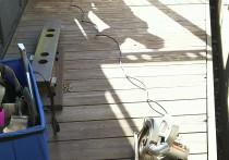 デッキの作り替えは人工木デッキに