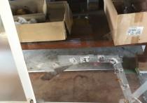 硝子修理施工例