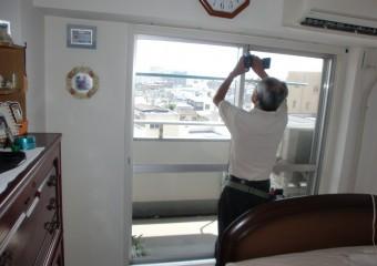 窓② 施工中