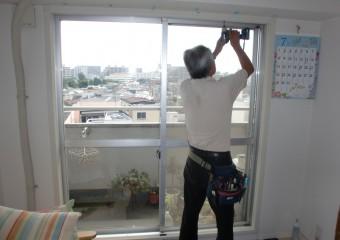 窓① 施工中