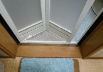浴室折戸の交換工事