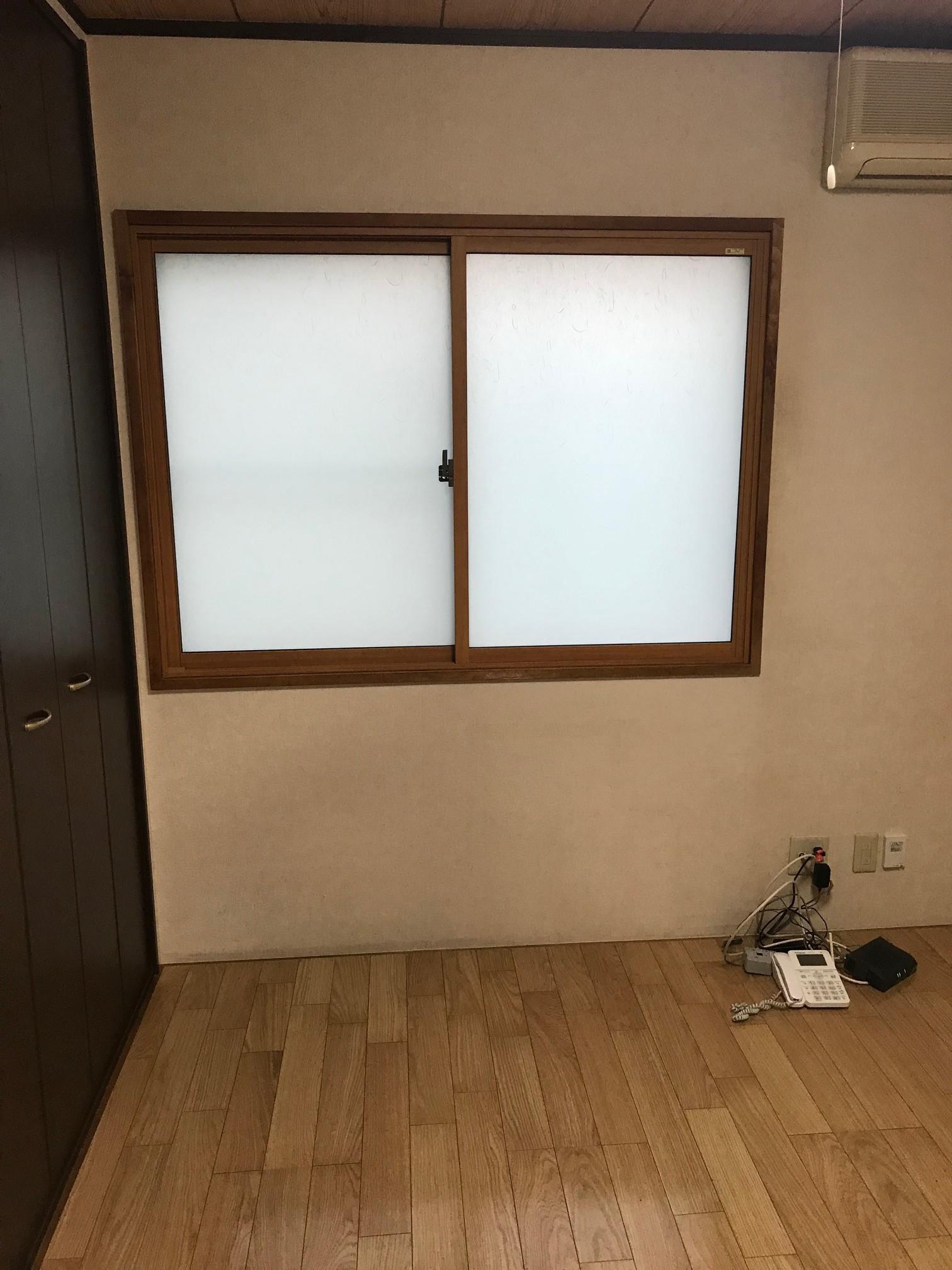 和室小窓内窓施工後