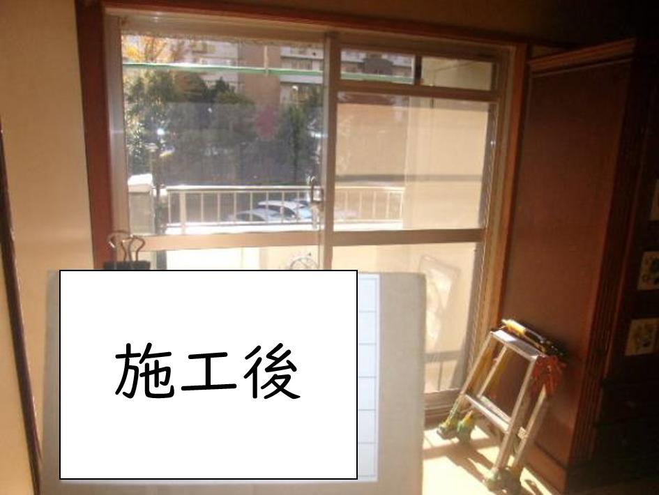 スペーシア ガラス交換工事・内窓取付工事