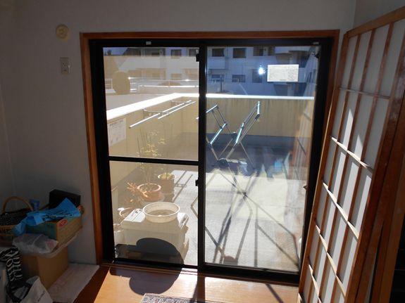 冬の室内環境改善に!スペーシア ガラス交換工事