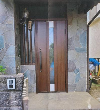 断熱タイプ 玄関ドア交換