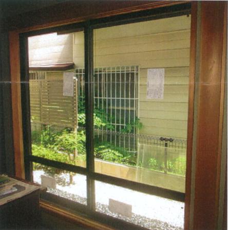 今回2度目の窓リフォームで真空ガラスに交換しました