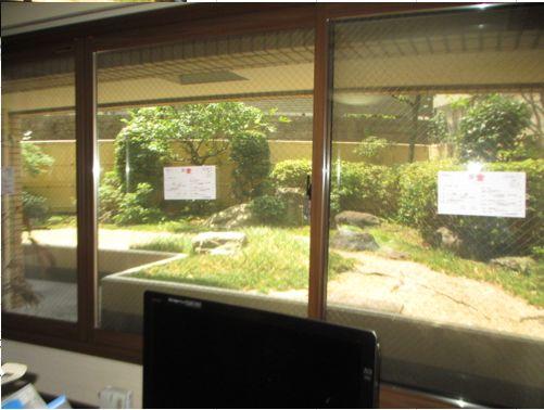 大きな窓に3枚建タイプの内窓を取り付けました