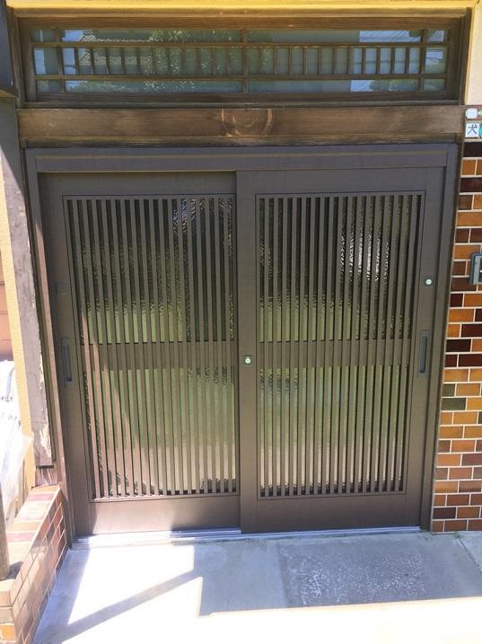 玄関ドア 交換工事