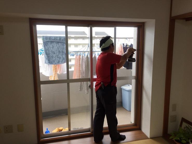 寒さ防止に 内窓取付工事