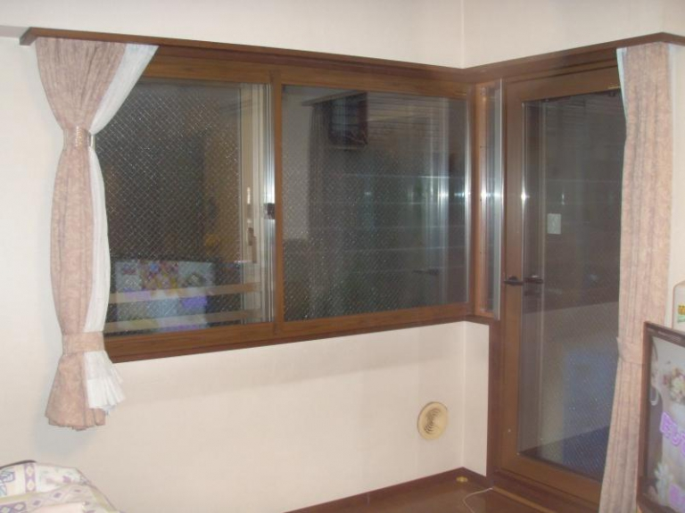 マンション 全居室内窓取付工事