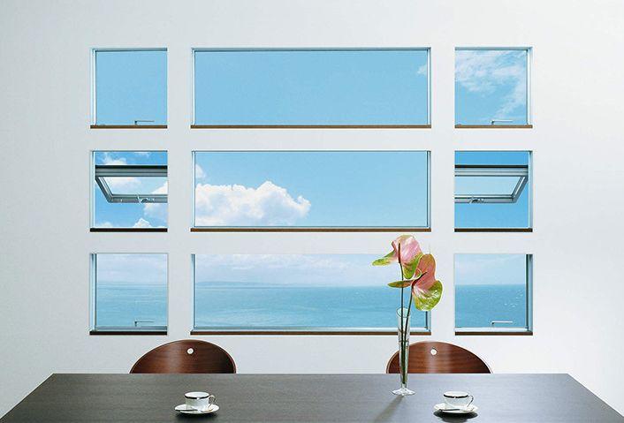窓の色・形の常識を超える【デザイン窓】