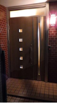 木製ドアを一新!
