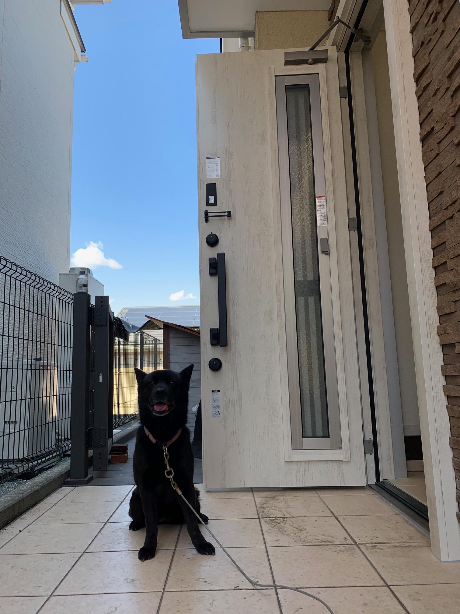 玄関ドアの交換