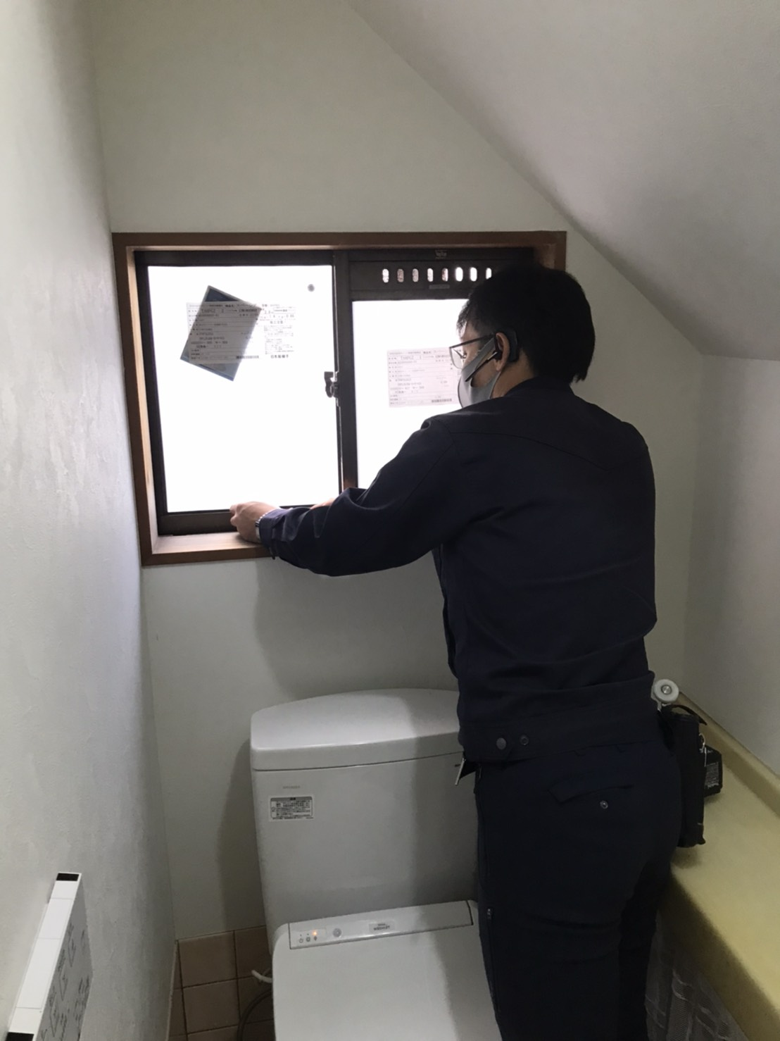 トイレ:スペーシア