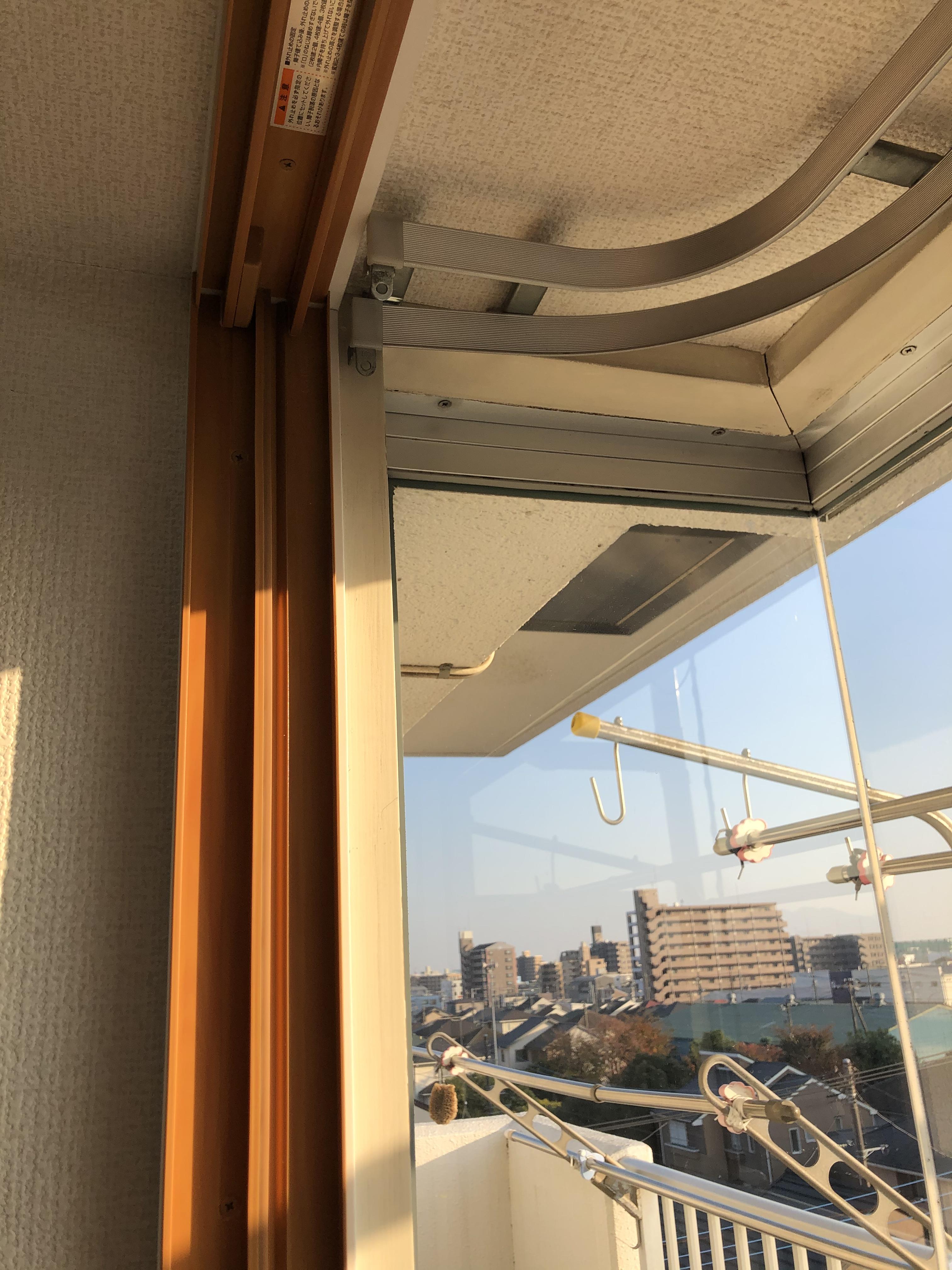 出窓への設置