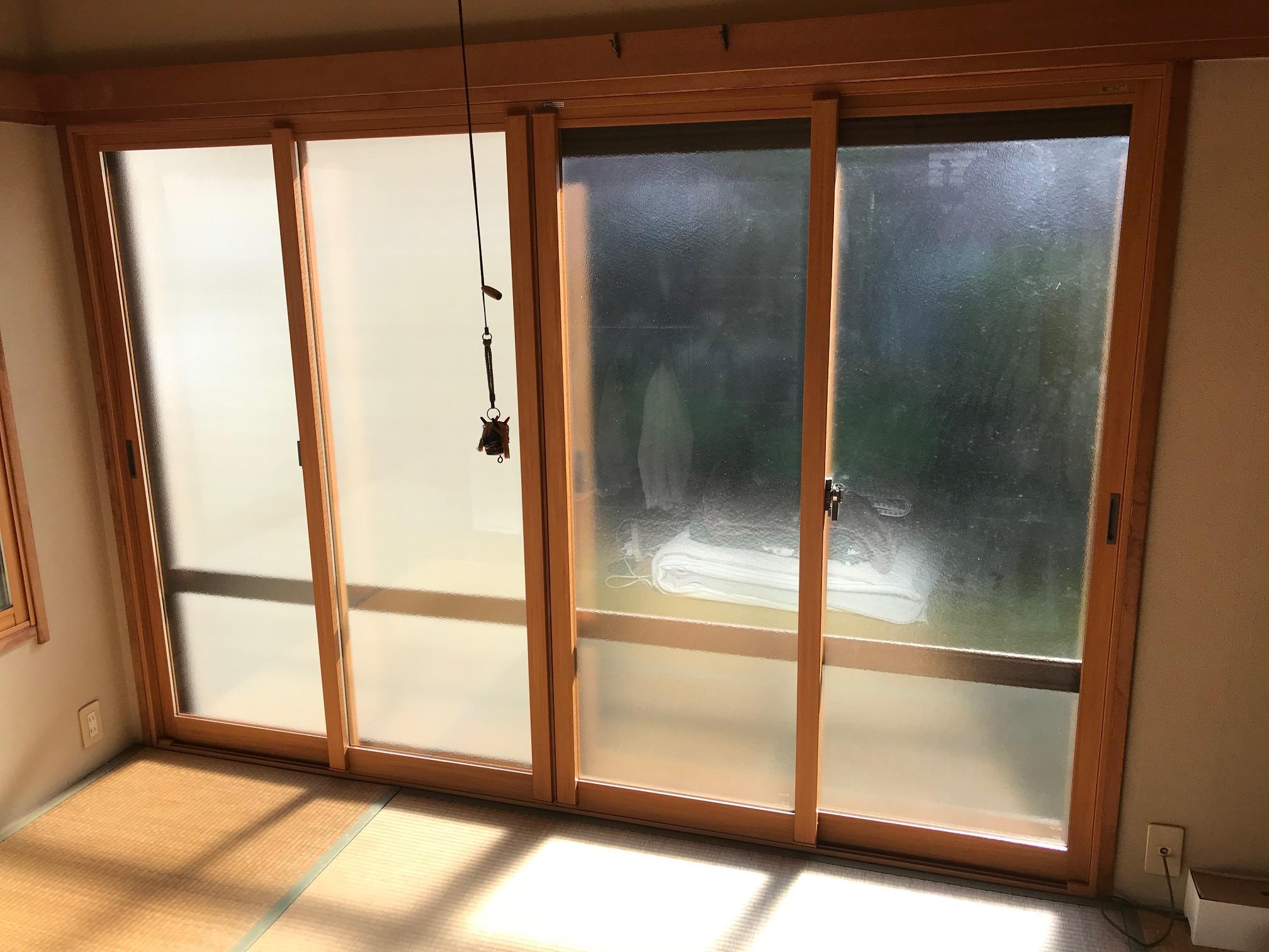 「結露」の悩み・・・窓を二重にすることで軽減できます…